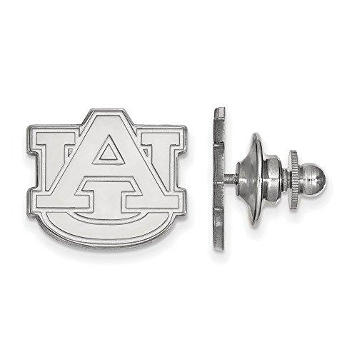 Auburn Tigers Lapel Pins (Auburn University Tigers Lapel Pin in Sterling Silver 2.41 gr)