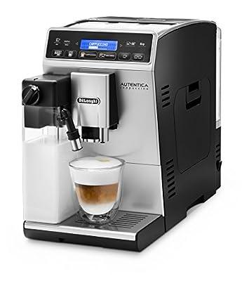 DeLonghi ETAM 29660SB Autentica Super Fully Automatic Espresso Machine with Latte Crema System, Silver