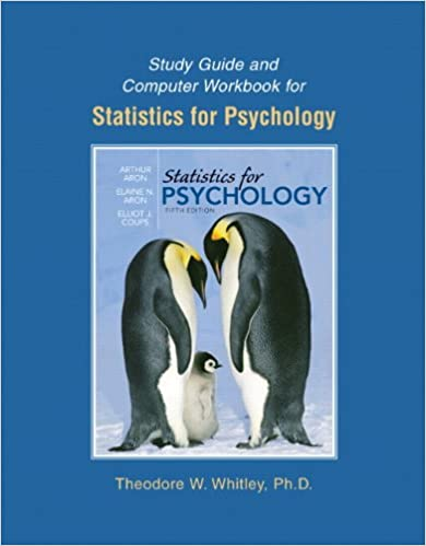 Amazon study guide and computer workbook for statistics for study guide and computer workbook for statistics for psychology 5th edition fandeluxe Image collections