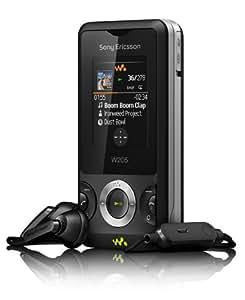 """Sony Ericsson W205 - Móvil libre (pantalla de 1,8"""" 128 x 160, 5 MB de capacidad) color negro"""