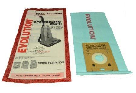 Evolution 6000 Series Upright Vacuum Bags 5 Pk Part # - Evolution Bag
