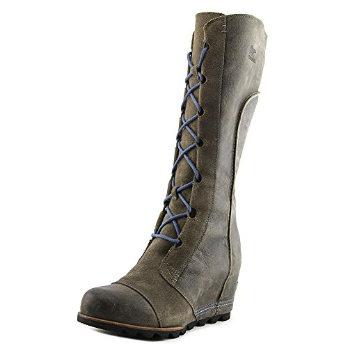 Wedge Snow Boots - Sorel Cate The Great Wedge Women US 10.5 Gray Winter Boot