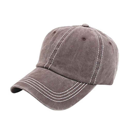 Elaco Baseball Cap for Men and Women Cool Sporting Hat with Adjustable Velcro Backclosure - Top Quality, 100% Polyester Sports Caps-Perfect for Running, Workouts and Outdoor Activities (Coffee)