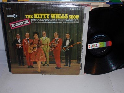 The KITTY WELLS Show LP Decca DL 74831 Lp Kitty