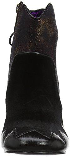Poetic Licence by Irregular Choice Women's Chevron Ankle Boots Black (Black) 2n9Xq1mij
