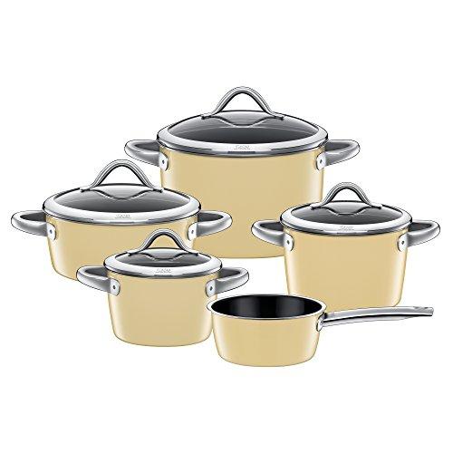 silit topf set 5 teilig vitaliano vanilla. Black Bedroom Furniture Sets. Home Design Ideas