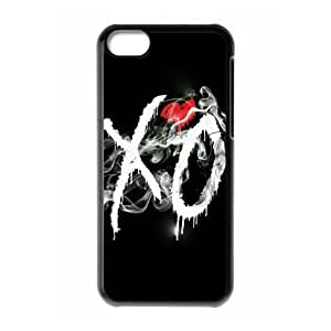 C-EUR Print The Weeknd XO Pattern Hard Case for iphone 5/5s iphone 5/5s