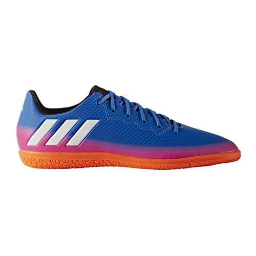 adidas MESSI 16.3 IN J - Botas de fútbol Línea Messipara niños, Azul - (AZUL/FTWBLA/NARSOL), -28