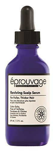 prouvage Reviving Scalp Serum For Thicker, Fuller Hair Color-Safe, Free of Sulfates, Parabens Gluten 2 Fl. Oz.
