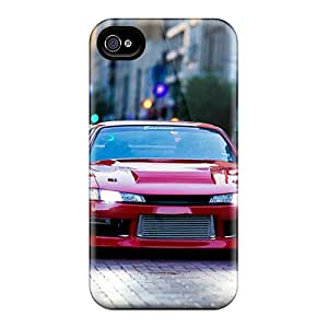 Bumper Cell-phone Hard Covers For Iphone 4/4s (vxW19854RCZZ) Custom Fashion Iphone Wallpaper Skin