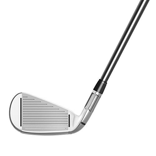 TaylorMade Golf MCGB Men's Iron Set (Set of 8 total clubs: Graphite Regular Flex 4-PW AW Iron Set, Right Hand)