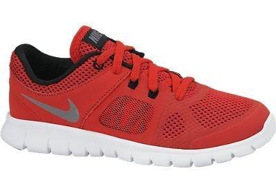 Boy's Nike Flex 2014 RN Running Shoe (11C-3Y) University Red/Black/White/Cool Grey Size 12 Kids US