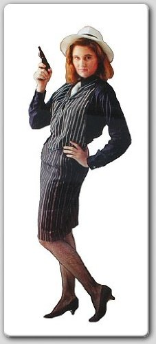 Gangster Moll Costume (Adult -