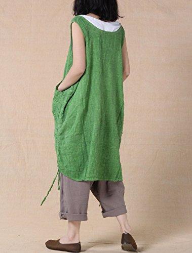 Vogstyle - Camisa deportiva - para mujer Verde