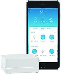 Lutron Caseta Wireless Smart Bridge, L-bdg2-wh, Works With Alexa, Apple Homekit, & The Google Assistant