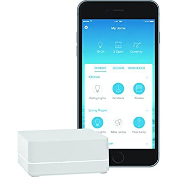 LUTRON L-BDG2-WH Caseta Wireless Smart Bridge, HomeKit-enabled, works