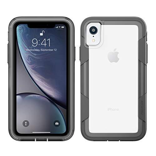 Pelican C42030-001A-CLCG Voyager iPhone XR Case (Clear/Grey)