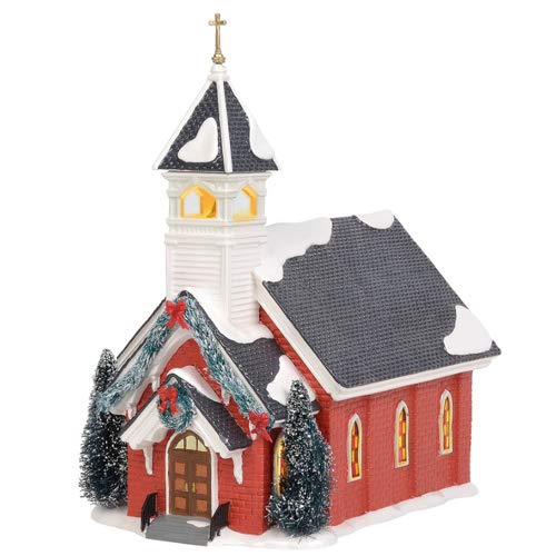 Department 56 Original Snow Village Mount Olive Church