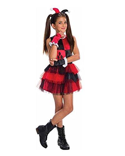 Rubie's Girls Harley Quinn Costume Small
