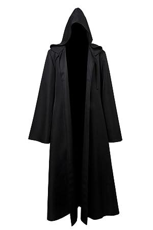 Anakin Skywalker Jedi Traje de Cosplay Disfraz Solo Capa Negro ...