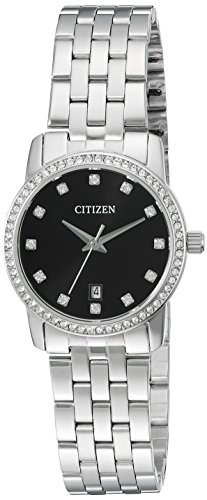 Citizen Women's Quartz Watch with Crystal Accents and Date, EU6030-56E (56e Watch)