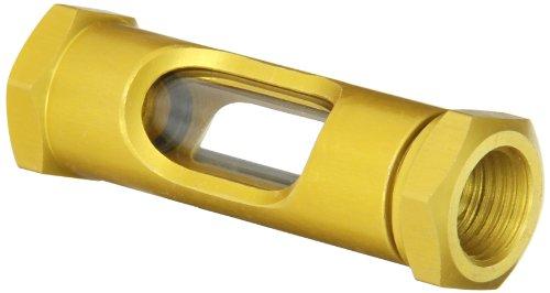 Gits 04281 Style OL Sight Flow Liquid Level Gauge Brass Liquid Level Gauge