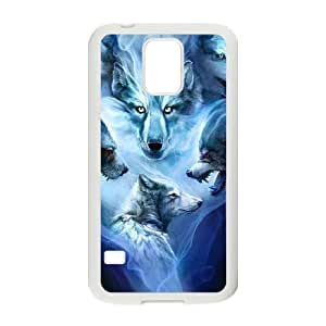 Case Of Wolf Howling Customized Case For SamSung Galaxy S5 i9600