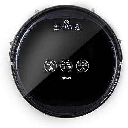 DOMO Aspirateur robot noir DO7293S: : Cuisine