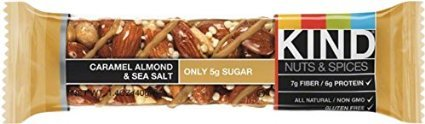 ONLY 1 IN PACK Kind Caramel Almond & Sea Salt Bars, 4 Count Box ()