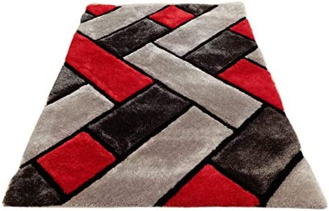 3D Contemporary Super Soft Polyester Fiber Area Shaggy Rugs