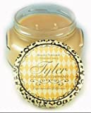 1 X Tyler Glass Fragrance Candle 22 Oz,Patchouli