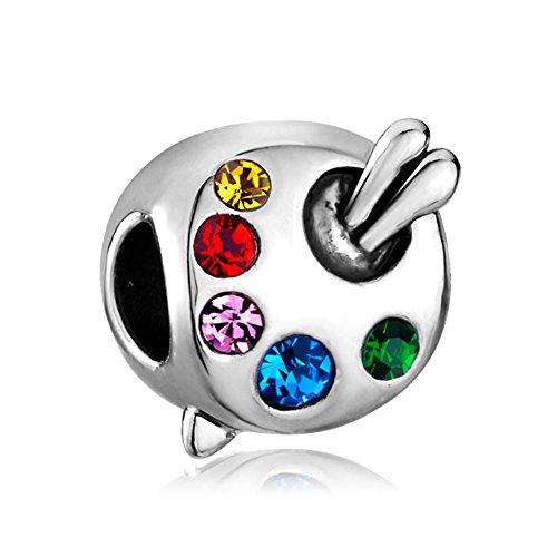 CharmSStory Paintbrush Colorful birthstone Bracelets