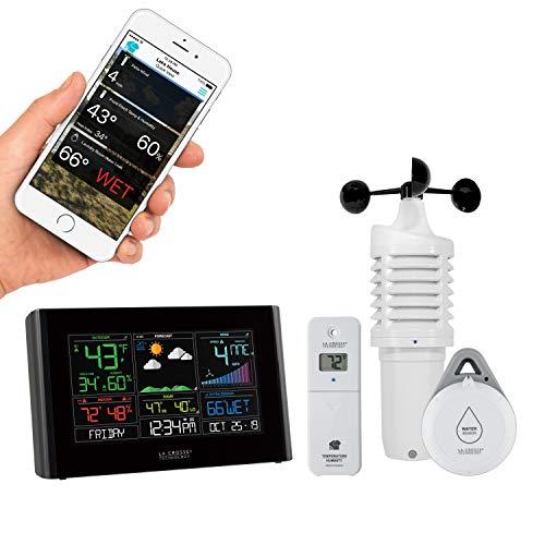 La Crosse Technology S82950-INT WiFi Professional Weather Station, Black (Weather Forecast Wifi)