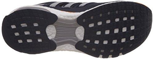 adidas Energy Boost 3 M, Zapatillas de Deporte para Hombre Negro / Blanco / Naranja (Maruni / Ftwbla / Eqtnar)