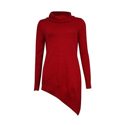 Cheap Alfani Women's Asymmetrical Cowl Neck Sweater free shipping
