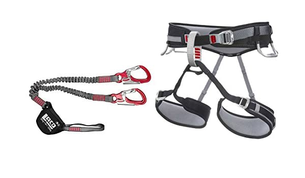 Set de vía ferrata LACD Pro + Correa Tamaño M – Via Ferrata Set ...
