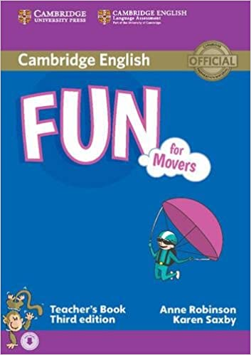 Fun for movers teachers book with audio anne robinson karen saxby fun for movers teachers book with audio anne robinson karen saxby 9781107444805 amazon books fandeluxe Choice Image