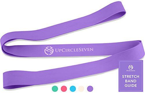 UpCircleSeven Ballet Band - Premium Stretch Band for Kids - Perfect for Dance, Gymnastics, and Flexibility (Plum Purple)