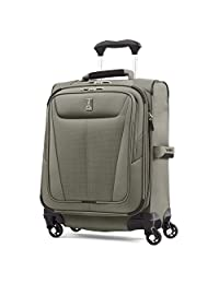 Travelpro Maxlite 5 International Carry-On Size - Expandable Spinner Luggage, Slate Green