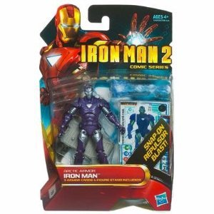 Iron Man 2 Comic Series 4 Inch Action Figure #33 Arctic Armor Iron Man