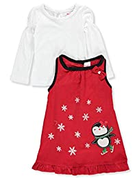 Nannette Girls' 2-Piece Dress Set Outfit