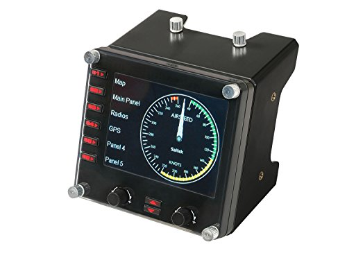 - Logitech 945-000027  G Pro Flight Instrument Panel