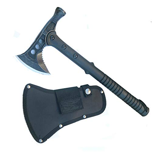(FBIQQ M48 Tactical Hammer,Axe With Nylon Sheath)