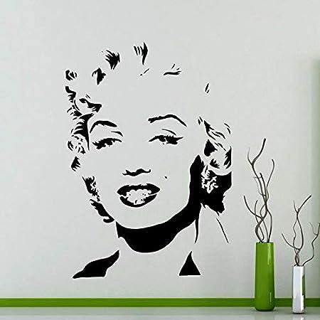 weiaikeke Marilyn Monroe Etiqueta de la Pared Sala de Estar ...