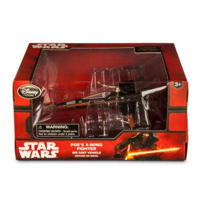 - Disney Star Wars The Force Awakens Poe's X-Wing Fighter Diecast Vehicle