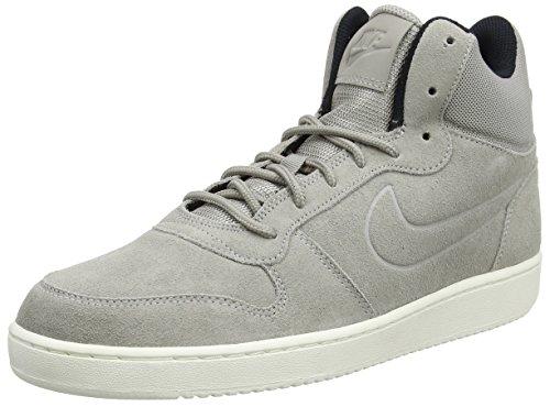 Nike Herren Court Borough Mid Premium Sneaker Grau (Cobblestone/cobblestone-sail-black)