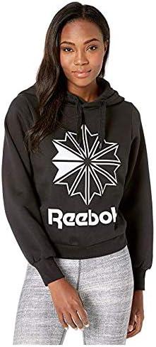 [Reebok(リーボック)] レディーススウェット・パーカー等 Classic Fleece Big Logo Hoodie Black [並行輸入品]