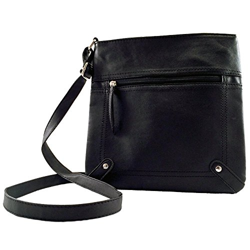 Nicole Bouvier Black Cross Body Handbag 2018 Limited Summer Edition for Teens from Nicole Bouvier