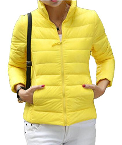 Stand 5 Jacket Down M amp;S Collar Slim Solid Women's Short amp;W Puffer q67P6Bt
