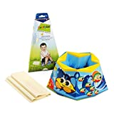 ComfyDo Disposable and Foldable Travel Potty Training Seat, Ocean Blue